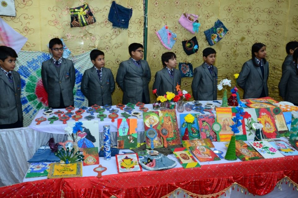 Staford School Lucknow Art Craft