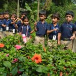 """Out in the garden""- Field trip to Nursery"